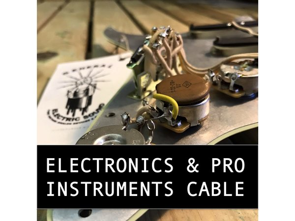 ELECTRONICS  GUITAR WIRES